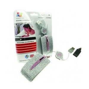 BCL Bling Mouse - USB & PS2 - SILVER