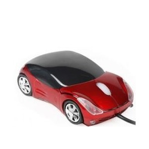 Red Car Shaped Mouse